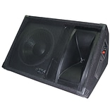 Pyle PASC12 12 Two-Way Stage Monitor Speaker System Black