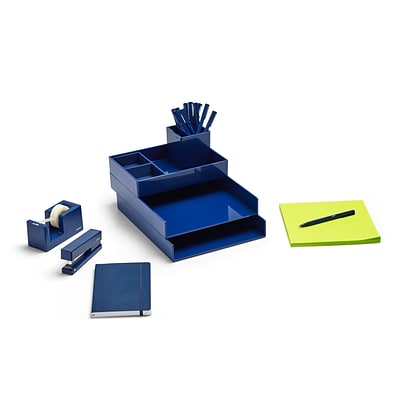 Poppin Navy Dream Desk (101657)