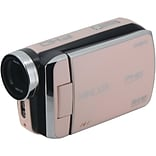 Minolta 20-Megapixel 1080p Full HD MN50HD Camcorder, Rose Gold (MN50HD-RG)