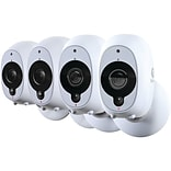 Swann 1080p Full HD Battery-Powered Wire-Free Camera, 4pk (SWWHD-INTCAMPK4-US)