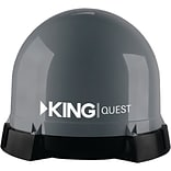 King Refurbished KING Quest Portable Satellite TV Antenna (VQ4100R)
