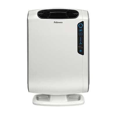 Fellowes AeraMax True HEPA Console DX55 Air Purifier, White (9320701)