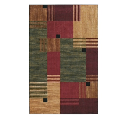 Mohawk Nylon New Wave 76 x 10 Green Rug (797786002808)