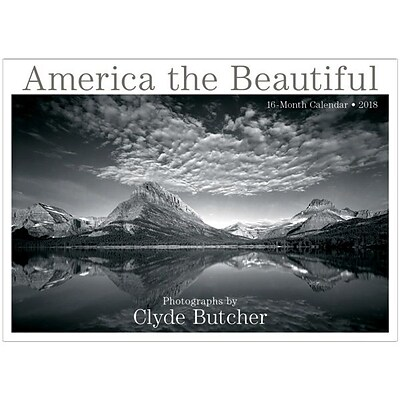 2018 Sellers Publishing, Inc. 12 x 12 America The Beautiful - Photographs By Clyde Butcher Wall Calendar (CA0102)
