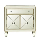 Right2Home Glam Mirrored Accent Chest 32L x 13.13W x 32.5H (DS-D018007)
