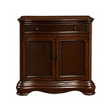 Right2Home Brown Two Tone Hall Chest 34.8L x 13W x 34.3H (DS-P017033)