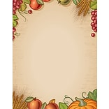 Great Papers!® Holiday Stationery, Fall Harvest, 8.5 x 11, 80 Sheets (2017016)