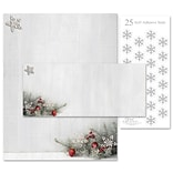Great Papers!® Holiday Stationery Kit, Woodsy Pine, 8.5 x 11 Letterhead, 9.5 x 4.25 Envelopes, 2