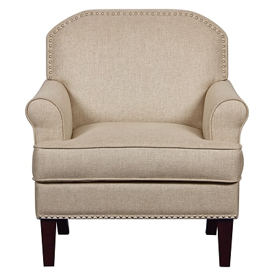 Right2Home Upholstered Linen Chair (DS-D153-700-538)