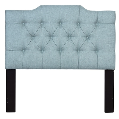 Right2Home Saddle Back Full / Queen Polyester Headboard 60.5 L x 4.0 W x 60.0 H Lunar Chambray (DS-D014-250-481)