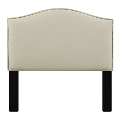 Right2Home Camel Back Full / Queen Polyester Headboard 60.1 L x 4.0 W x 60.0 H Beige (DS-D016-250-433)