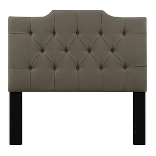 Right2Home Saddle Back Full / Queen Polyester Headboard 60.1 L x 4.0 W x 60.0 H Taupe (DS-D014-25