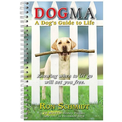 2018 Sellers Publishing, Inc. 9 x 6 Dogma: A Dogs Guide To Life (CW0221)