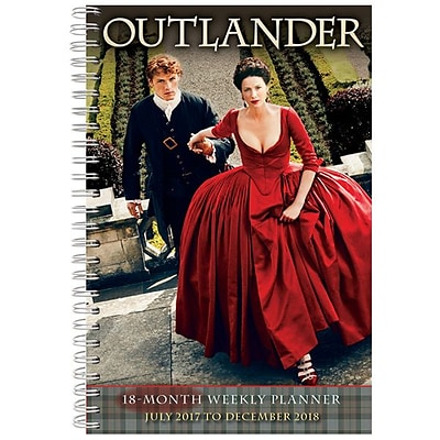 2018 Sellers Publishing, Inc. 9 x 6 Outlander (CW0231)