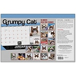 2018 Sellers Publishing, Inc. 17 x 11 Grumpy Cat® Desk Pad Planner Calendar (CD0292)