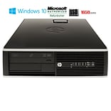 Refurbished HP 8200 Tower Core I5 2400 3.1GHz 16GB 240GB Solid State Drive DVDRW Windows 10 Pro Mar
