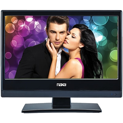 Naxa 13.3 LED TV with DVD/Media Player & Car Package (NTD-1356)