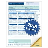 ComplyRight 2018 Time Off Request and Approval Form, 8-1/2 x 11, 2-Part, Pack of 50 (A0030)