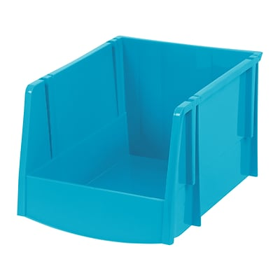 IRIS® XL Storage Bin, Teal, 6 Pack (588150)