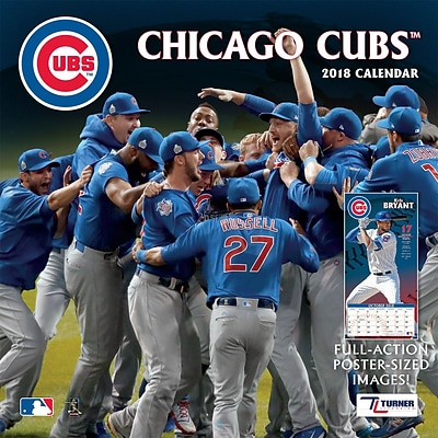 Chicago Cubs 2018 12X12 Team Wall Calendar (18998011844)