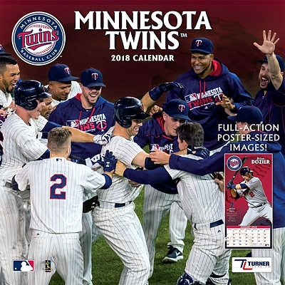 Minnesota Twins 2018 12X12 Team Wall Calendar (18998011855)