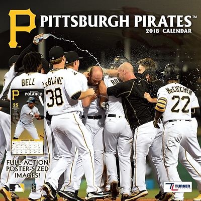 Pittsburgh Pirates 2018 12 x 12 Team Wall Calendar (18998011860)