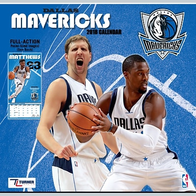Dallas Mavericks 2018 12 x 12 Team Wall Calendar (18998011875)