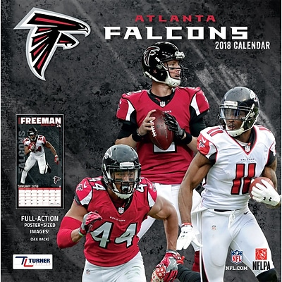 Atlanta Falcons 2018 12 x 12 Team Wall Calendar (18998011900)