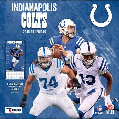 Indianapolis Colts 2018 12 x 12 Team Wall Calendar (18998011912)