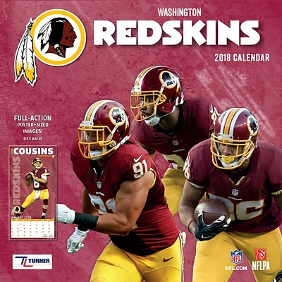 Washington Redskins 2018 12 x 12 Team Wall Calendar (18998011930)