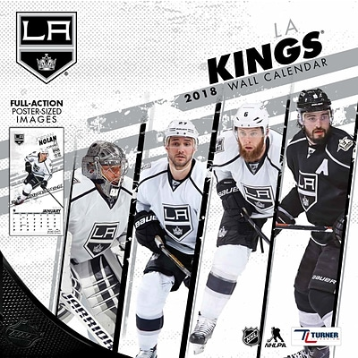 Los Angeles Kings 2018 12 x 12 Team Wall Calendar (18998011943)