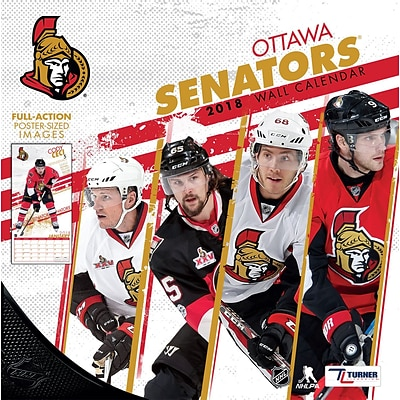 Ottawa Senators 2018 12X12 Team Wall Calendar (18998011950)