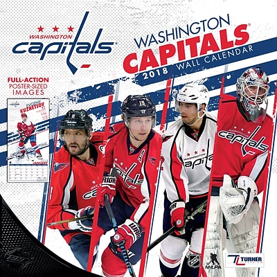 Washington Capitals 2018 12X12 Team Wall Calendar (18998011959)