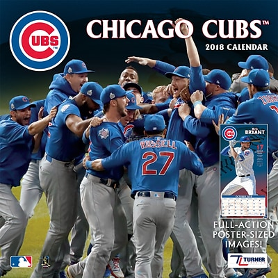 Chicago Cubs 2018 Mini Wall Calendar (18998040533)