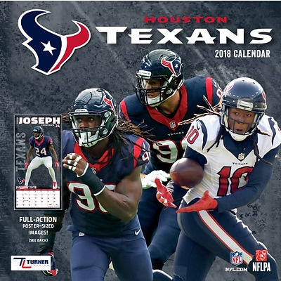 Houston Texans 2018 Mini Wall Calendar (18998040564)