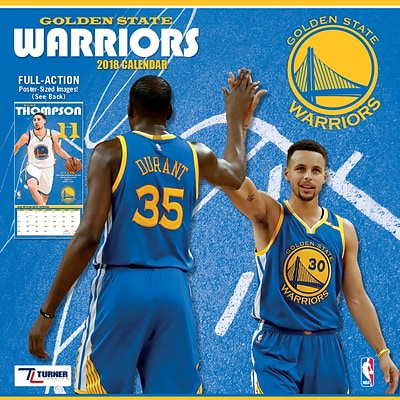 Golden State Warriors 2018 Mini Wall Calendar (18998040597)