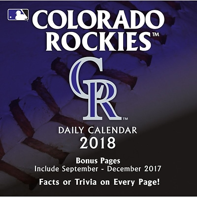 Colorado Rockies 2018 Box Calendar (18998051402)