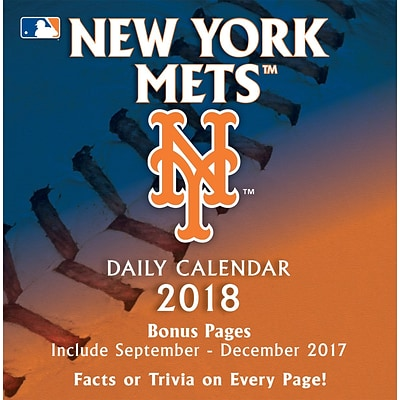 New York Mets 2018 Box Calendar (18998051410)