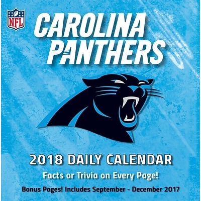 Carolina Panthers 2018 Box Calendar (18998051432)