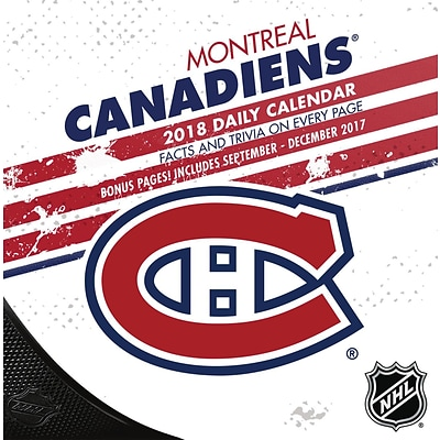 Montreal Canadians Box Calendar (18998051463)