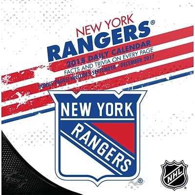 New York Rangers 2018 Box Calendar (18998051465)