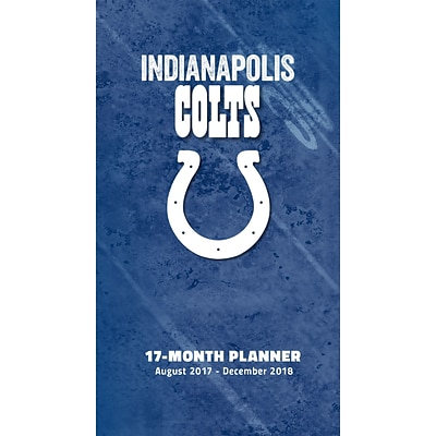 Indianapolis Colts 2017-18 17-Month Planner (18998890545)