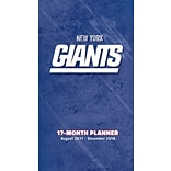 New York Giants 2017-18 17-Month Planner (18998890552)