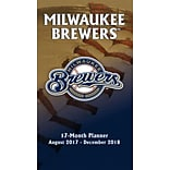 Milwaukee Brewers 2017-18 17-Month Planner (18998890579)