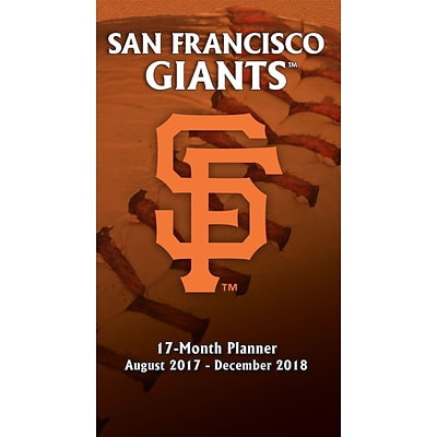 San Francisco Giants 2017-18 17-Month Planner (18998890587)