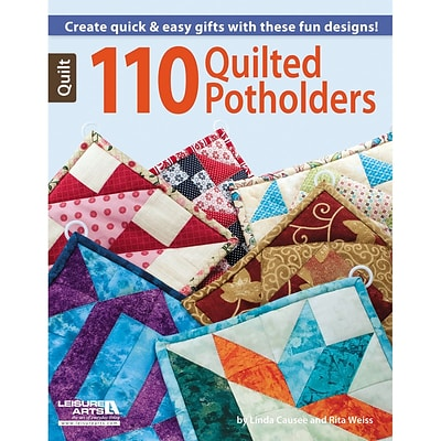 Leisure Arts 110 Quilted Potholders (LA-6203)