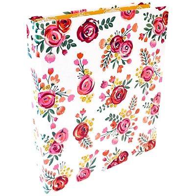 Bloom Daily Planners Vintage Floral Fashion Binder, 1 (X000B-453X)