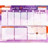 Bloom Daily Planners Watercolor Work Life Balance To Do Pad, 8.5 x 11 (X000QS6I)