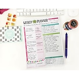 Bloom Daily Planners Bloom Planning System Pad, 8.5 x 11 (WJN0Q1)