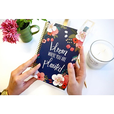 Bloom Daily Planners Bloom Where You Are Planted 2017-18 Academic Planner (X001C-D3I09)